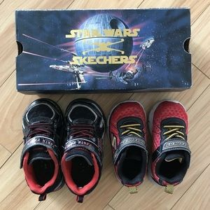 Used Skechers toddlers shoes x Star Wars size7/8